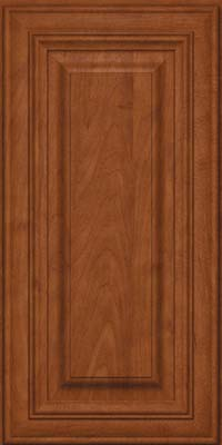 Square Raised Panel - Solid (AA1M) Maple in Chestnut - Wall