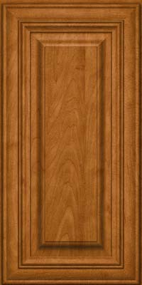 Square Raised Panel - Solid (AA1M) Maple in Golden Lager - Wall