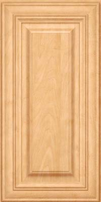 Square Raised Panel - Solid (AA1M) Maple in Honey Spice - Wall