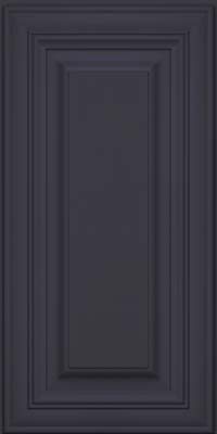 Square Raised Panel - Solid (AA1M) Maple in Midnight - Wall