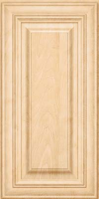 Square Raised Panel - Solid (AA1M) Maple in Natural - Wall