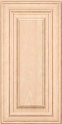 Square Raised Panel - Solid (AA1M) Maple in Parchment - Wall