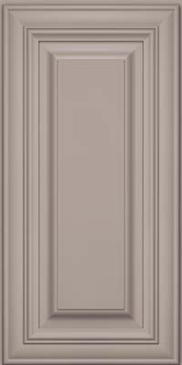 Square Raised Panel - Solid (AA1M) Maple in Pebble Grey - Wall