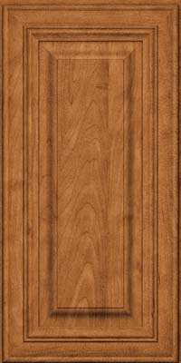 Square Raised Panel - Solid (AA1M) Maple in Praline - Wall