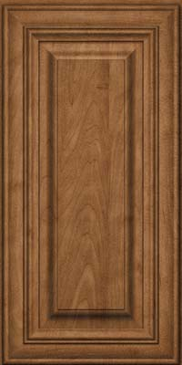 Square Raised Panel - Solid (AA1M) Maple in Rye - Wall