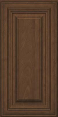 Square Raised Panel - Solid (AA1M) Maple in Saddle Suede - Wall