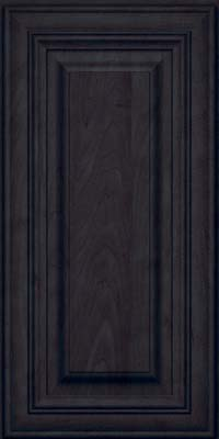 Square Raised Panel - Solid (AA1M) Maple in Slate - Wall