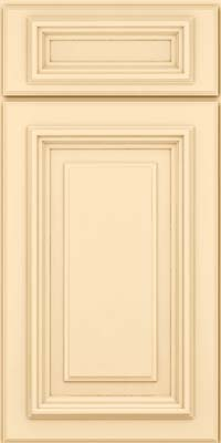 Square Raised Panel - Solid (AA3M) Maple in Biscotti - Base
