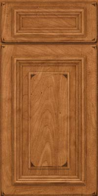 Square Raised Panel - Solid (AA3M) Maple in Burnished Praline - Base
