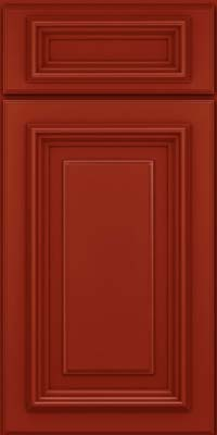 Square Raised Panel - Solid (AA3M) Maple in Cardinal - Base