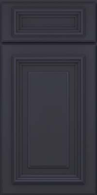 Square Raised Panel - Solid (AA3M) Maple in Midnight - Base