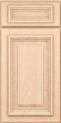 Square Raised Panel - Solid (AA3M) Maple in Parchment - Base