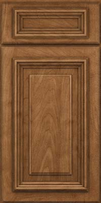 Square Raised Panel - Solid (AA3M) Maple in Rye - Base