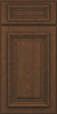 Square Raised Panel - Solid (AA3M) Maple in Saddle Suede - Base