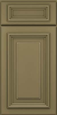 Square Raised Panel - Solid (AA3M) Maple in Sage - Base