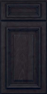 Square Raised Panel - Solid (AA3M) Maple in Slate - Base