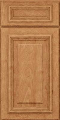 Square Raised Panel - Solid (AA3M) Maple in Toffee - Base
