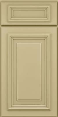 Square Raised Panel - Solid (AA3M) Maple in Willow - Base