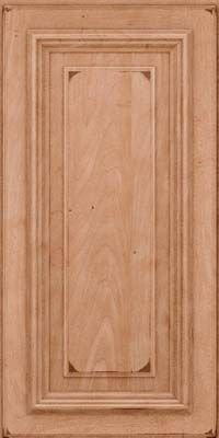 Square Raised Panel - Solid (AA3M) Maple in Burnished Ginger - Wall
