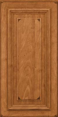Square Raised Panel - Solid (AA3M) Maple in Burnished Praline - Wall