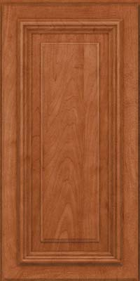 Square Raised Panel - Solid (AA3M) Maple in Cinnamon - Wall
