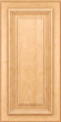 Square Raised Panel - Solid (AA3M) Maple in Honey Spice - Wall
