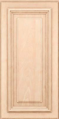 Square Raised Panel - Solid (AA3M) Maple in Parchment - Wall