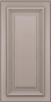 Square Raised Panel - Solid (AA3M) Maple in Pebble Grey - Wall