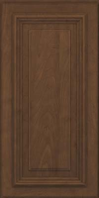Square Raised Panel - Solid (AA3M) Maple in Saddle Suede - Wall