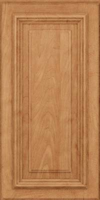 Square Raised Panel - Solid (AA3M) Maple in Toffee - Wall
