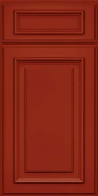 Square Raised Panel - Solid (AA4M) Maple in Cardinal - Base