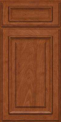 Square Raised Panel - Solid (AA4M) Maple in Chestnut - Base
