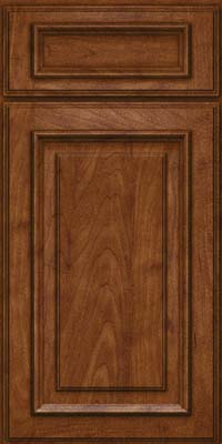 Square Raised Panel - Solid (AA4M) Maple in Cognac - Base