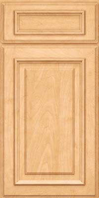 Square Raised Panel - Solid (AA4M) Maple in Honey Spice - Base