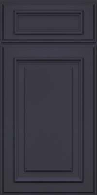 Square Raised Panel - Solid (AA4M) Maple in Midnight - Base