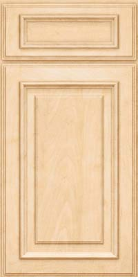 Square Raised Panel - Solid (AA4M) Maple in Natural - Base