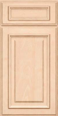 Square Raised Panel - Solid (AA4M) Maple in Parchment - Base