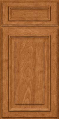 Square Raised Panel - Solid (AA4M) Maple in Praline - Base