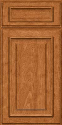 Square Raised Panel - Solid (AA4M) Maple in Praline w/Mocha Highlight - Base