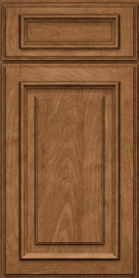 Square Raised Panel - Solid (AA4M) Maple in Rye - Base