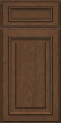 Square Raised Panel - Solid (AA4M) Maple in Saddle Suede - Base