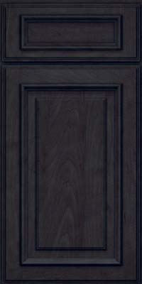 Square Raised Panel - Solid (AA4M) Maple in Slate - Base