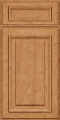 Square Raised Panel - Solid (AA4M) Maple in Toffee - Base