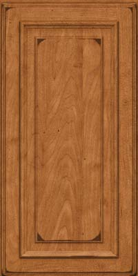Square Raised Panel - Solid (AA4M) Maple in Burnished Praline - Wall