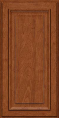 Square Raised Panel - Solid (AA4M) Maple in Chestnut - Wall