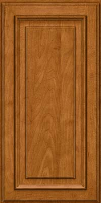 Square Raised Panel - Solid (AA4M) Maple in Golden Lager - Wall