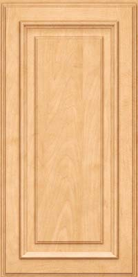 Square Raised Panel - Solid (AA4M) Maple in Honey Spice - Wall