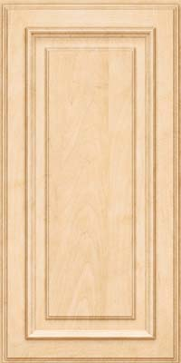 Square Raised Panel - Solid (AA4M) Maple in Natural - Wall