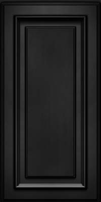 Square Raised Panel - Solid (AA4M) Maple in Onyx - Wall