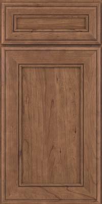 Square Recessed Panel - Veneer (AA6C) Cherry in Husk - Base